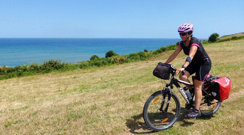 Camino de Santiago bike tour. Asturian coast | BIKING THROUGH SPAIN