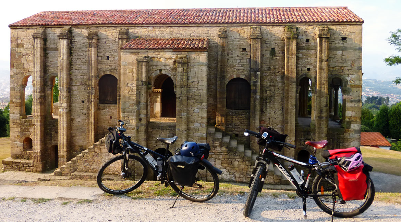 Camino de Santiago bike tour. Oviedo | BIKING THROUGH SPAIN