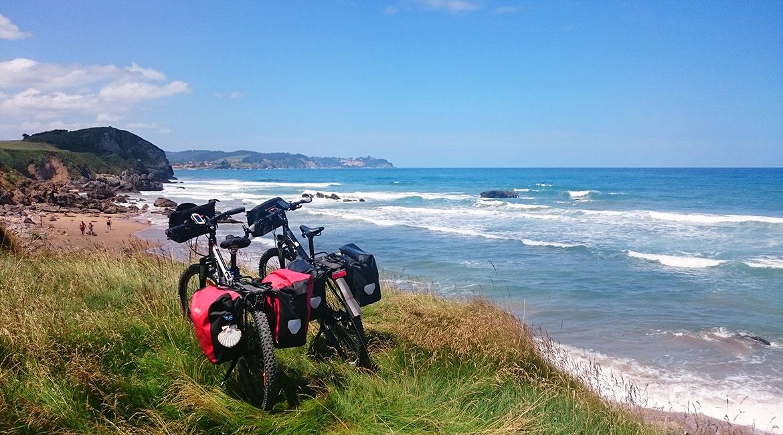 Camino de Santiago bike tour. Asturias coast | BIKING THROUGH SPAIN