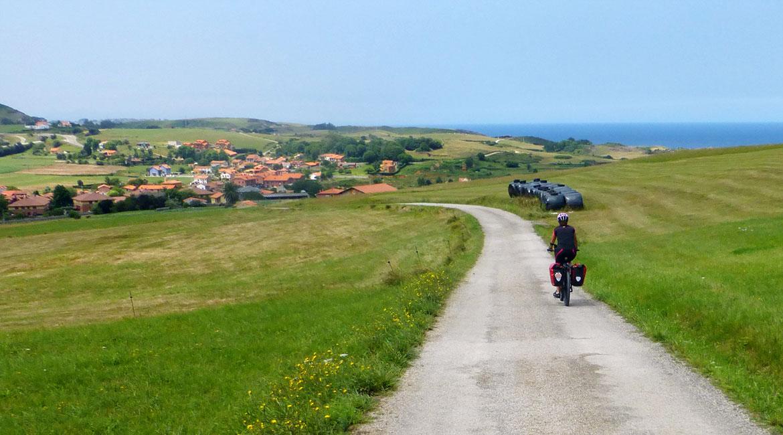 Camino de Santiago bike tour. Coast | BIKING THROUGH SPAIN