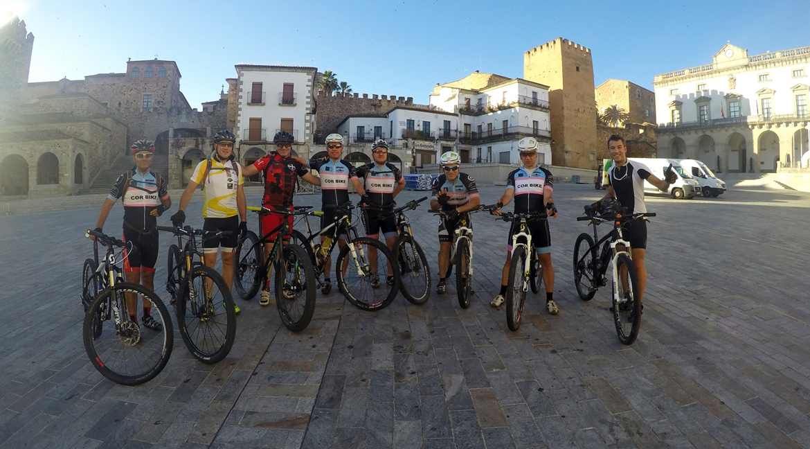 Camino de Santiago bike tour. Caceres | BIKING THROUGH SPAIN