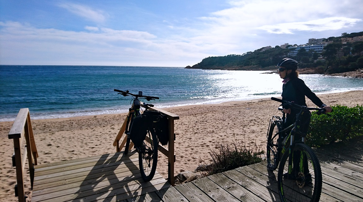 Costa Brava and Empuries on bike S'Agaró | BIKING THROUGH SPAIN