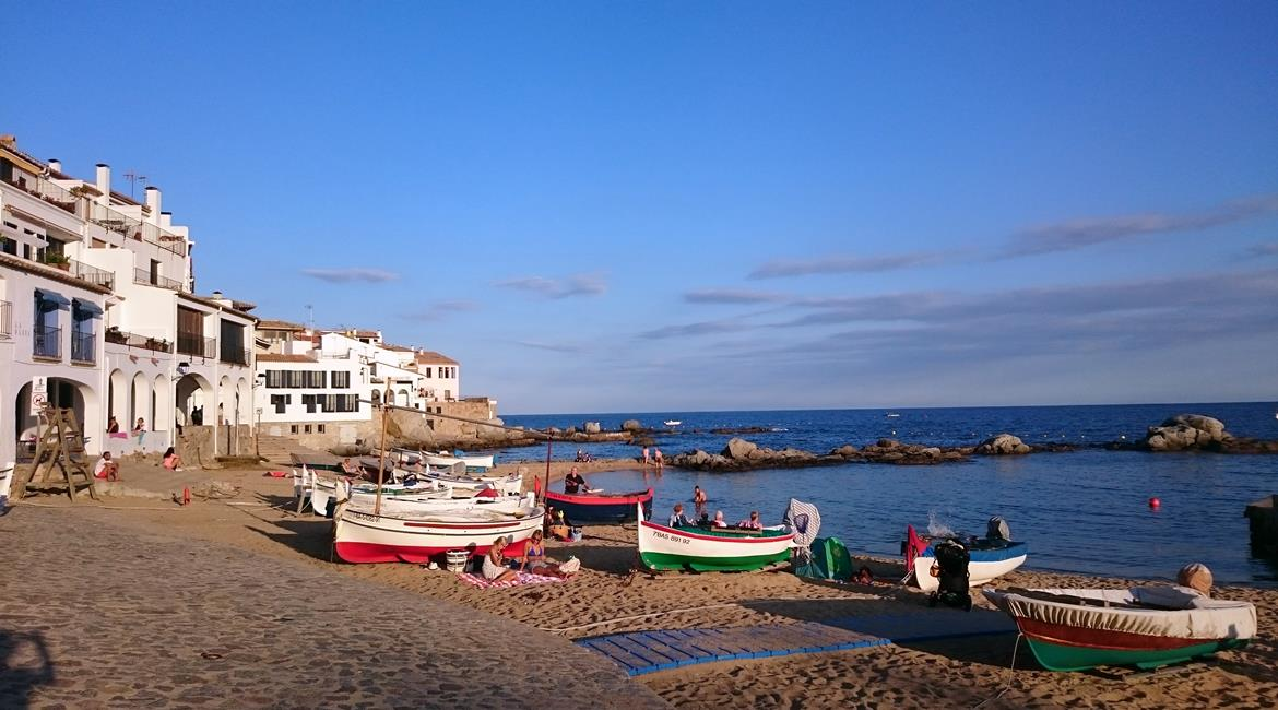 Costa Brava and Empuries on bike Calella | BIKING THROUGH SPAIN