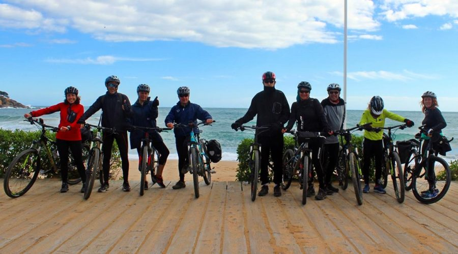 Costa Brava and Empuries on bike. Sant Feliu de Guixols | BIKING THROUGH SPAIN