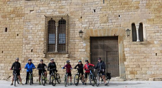 Emporda Medieval Towns on Bike. Peratallada| BIKING THROUGH SPAIN