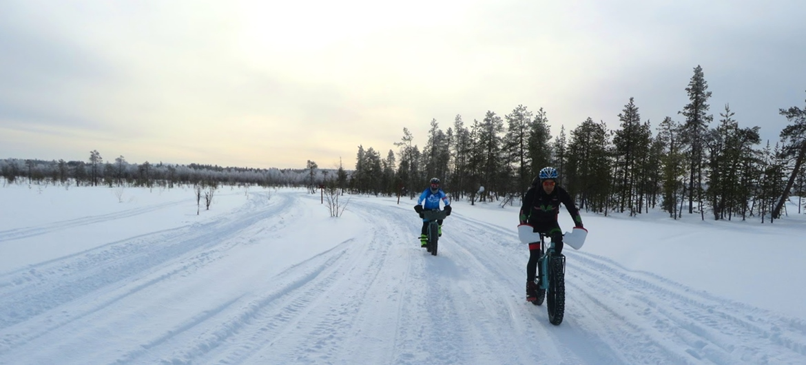 Lapland on Bike Forest | BIKING THROUGH SPAIN