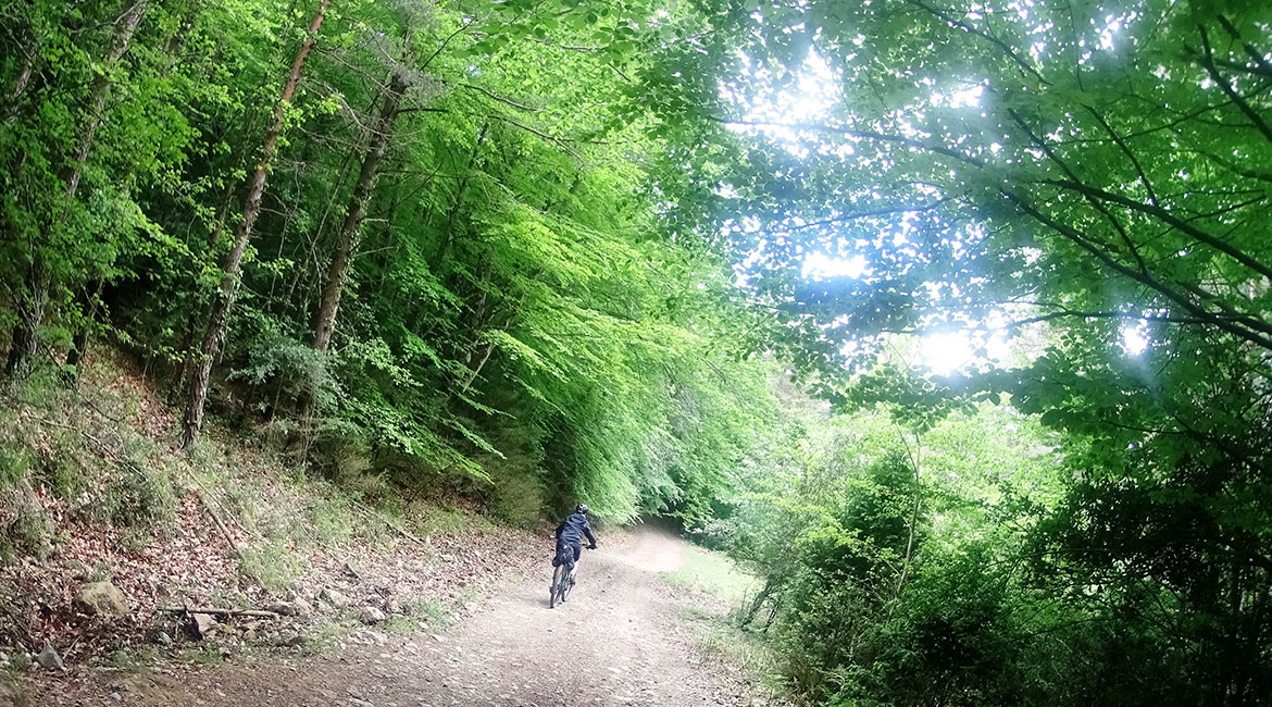 Pyrenees on MTB. Garrotxa | BIKING THROUGH SPAIN