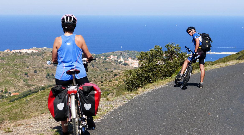 Cycling through Emporda. Port Vendres | BIKING THROUGH SPAIN