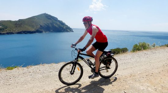 Cycling through Emporda. Cap Norfeu | BIKING THROUGH SPAIN