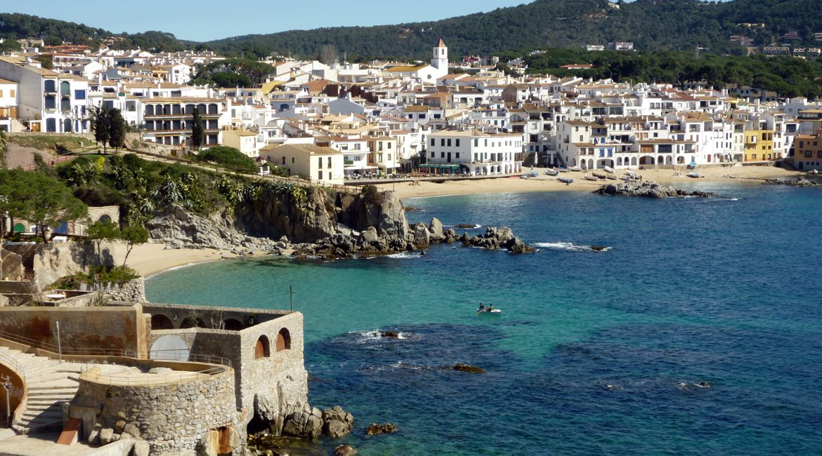 Costa Brava and Empuries on bike. Calella de Palafrugell | BIKING THROUGH SPAIN