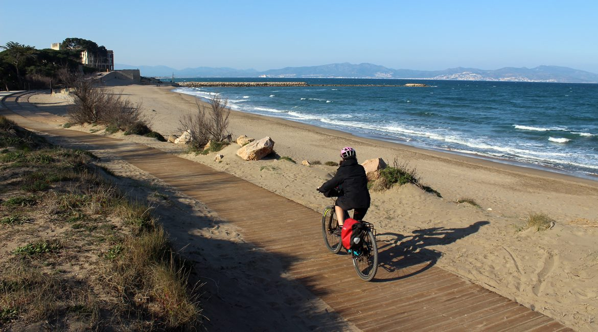 Costa Brava and Empuries on bike. St. Martí d'Empuries | BIKING THROUGH SPAIN