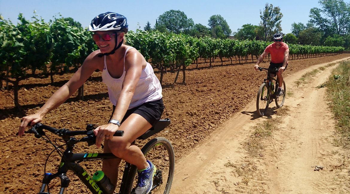 Penedes vineyards on bike. Caves Avinyó 2 | BIKING THROUGH SPAIN
